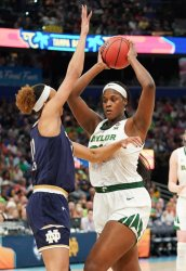 Baylor'a Kalani Brown in the NCAA Women's Basketball Championship