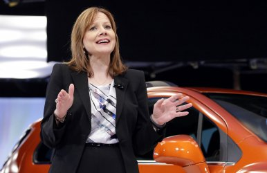 General Motors CEO Mary Barra in New York