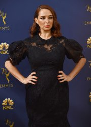 Maya Rudolph attends the 70th annual Primetime Emmy Awards in Los Angeles