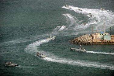 Iran War Games Near the Strait of Hormuz