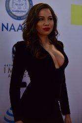 Jurnee Smollett-Bell attends the 48th NAACP Image Awards in Pasadena, California