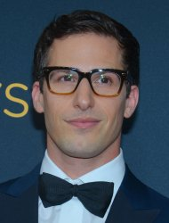 Andy Samberg attends the 68th Primetime Emmy Awards in Los Angeles
