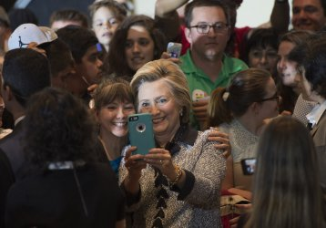 Hillary Clinton holds a Campaign Rally in Pittsburgh