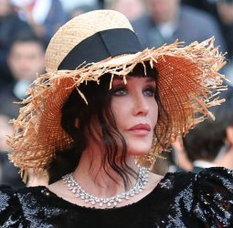 Isabelle Adjani attends the Cannes Film Festival