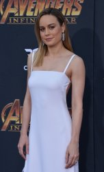 "Brie Larson atends the ""Avengers: Infinity Wars"" premiere in Los Angeles"