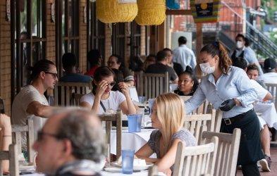 Outdoor Restaurant Service Resume in the Washington, DC region