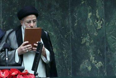 Iranian President Ebrahim RaisI Attends Swearing-in Ceremony