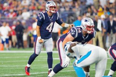 NFL Preseason Patriots Stidham against Panthers