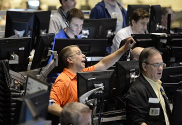 CBOE Traders Work After Fed Rate Announcement