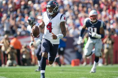 Texans Watson scrambles against Patriots