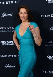 "Ashley Judd attends the ""Olympus Has Fallen"" premiere in Los Angeles"