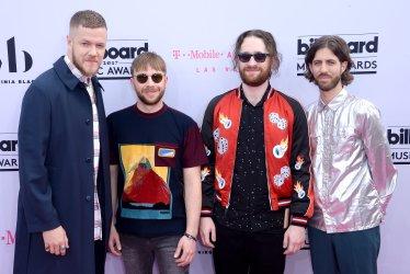 Dan Reynolds, Ben McKee, Daniel Platzman and Wayne Sermon attend the Billboard Music Awards in Las Vegas