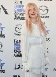 Hunter Schafer attends the Film Independent Spirit Awards in Santa Monica