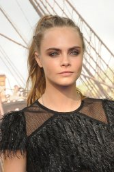 Cara Delevingne attends the World Premiere of 'Pan' in London
