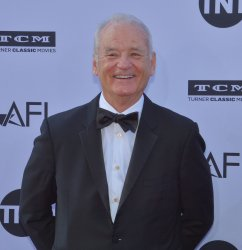 Bill Murray arrives for the AFI tribute gala to George Clooney in Los Angeles