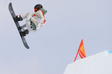American Redmond in slopestyle at Pyeongchang 2018 Winter Olympics