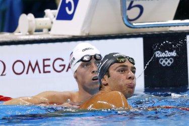 Men's 1500M Freestyle heats at Rio 2016 Olympics