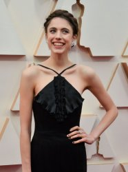 Margaret Qualley arrives for the 92nd annual Academy Awards in Los Angeles