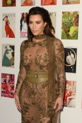 Kim Kardashian attends the Vogue 100 Gala Dinner