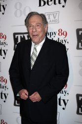 George Segal arrives for Betty White's 89th Birthday Party in New York