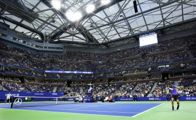 Daniil Medvedev and Grigor Dimitrov take on one another at the US Open
