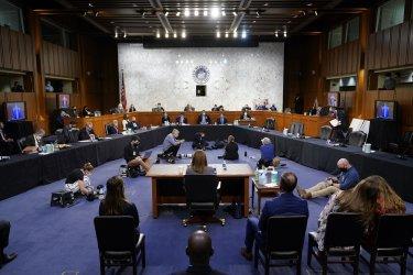 Supreme Court Nominee Barrett Appears Before Senate Judiciary Committee