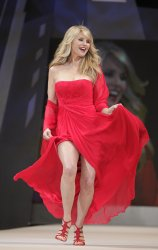 Christie Brinkley at The Heart Truth's Red Dress Fall 2012 Collections at Mercedes-Benz Fashion Week In New York