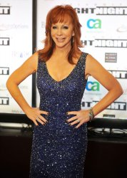 Reba McEntire arrives at Celebrity Fight Night in Arizona