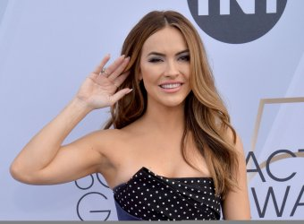 Chrishell Stause attends the SAG Awards in Los Angeles