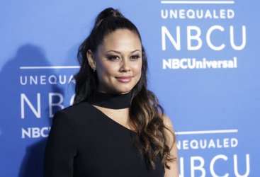 Vanessa Lachey at the 2017 NBCUniversal Upfront