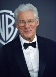 Richard Gere attends Instyle/Warner Bros. Golden Globes party