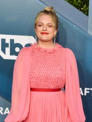 Elisabeth Moss attends the 26th annual SAG Awards in Los Angeles