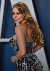 Sofia Vergara attends Vanity Fair Oscar party 2020