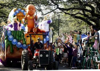 Mardi Gras in New Orleans 2013