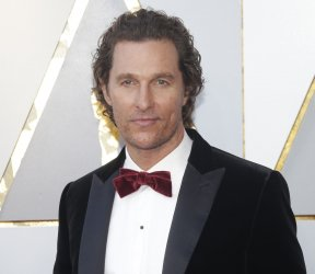 Matthew McConaughey arrives at the 90th Annual Academy Awards in Hollywood