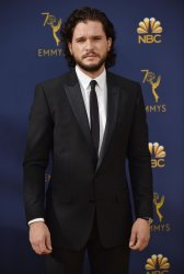 Kit Harington attends the 70th annual Primetime Emmy Awards in Los Angeles