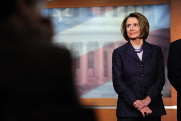 Speaker Pelosi speaks on the Democrat's agenda in Washington