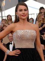 Sofia Vergara attends the 23rd annual SAG Awards in Los Angeles