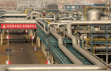 Operations continue at the Lu'an Coal to Oil Project in Changzhi, China