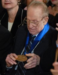 Bush presents 2007 National Medals of Arts and Humanities in Washington