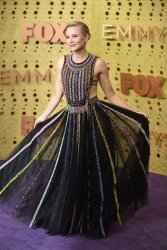 Kristen Bell attends Primetime Emmy Awards in Los Angeles