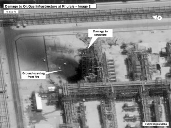 U.S. Government Releases Satellite Imagery of Damaged Oil Facilities in Saudi Arabia