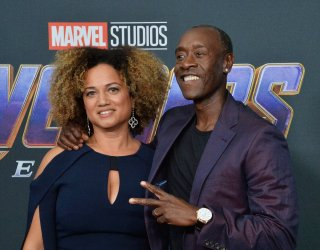 """Don Cheadle and Bridgid Coulter attend """"Avengers: Endgame"""" premiere in Los Angeles"""
