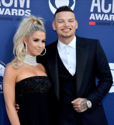Katelyn Brown and Kane Brown attend the Academy of Country Music Awards in Las Vegas