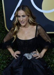 Sarah Jessica Parker attends the 75th annual Golden Globe Awards in Beverly Hills
