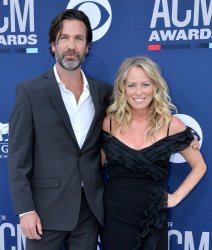 Jim McPhail and Deana Carter attend the Academy of Country Music Awards in Las Vegas