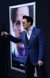 """Transcendence"" premiere held in Los Angeles"