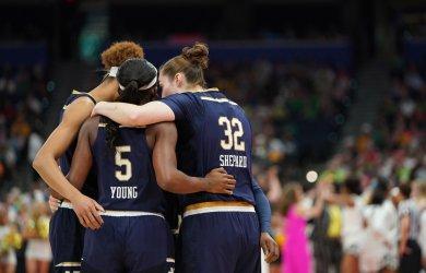 Notre Dame Fighting Irish in the NCAA Women's Basketball Championship