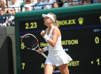 Anett Kontaveit defeats Heather Watson in Second round match.