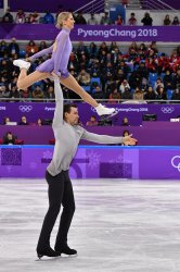 Pairs Free Skating at the Pyeongchang 2018 Winter Olympics